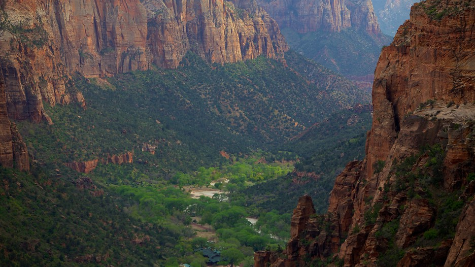 Zion national park utah vacations 2017 package save for Cabin zion national park