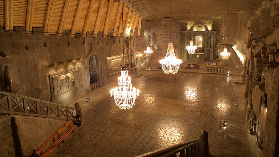 wieliczka salt mine in krakow expedia. Black Bedroom Furniture Sets. Home Design Ideas