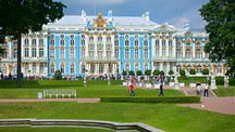 Catherine Palace and Park in Tsarskoye Selo - St. Petersburg