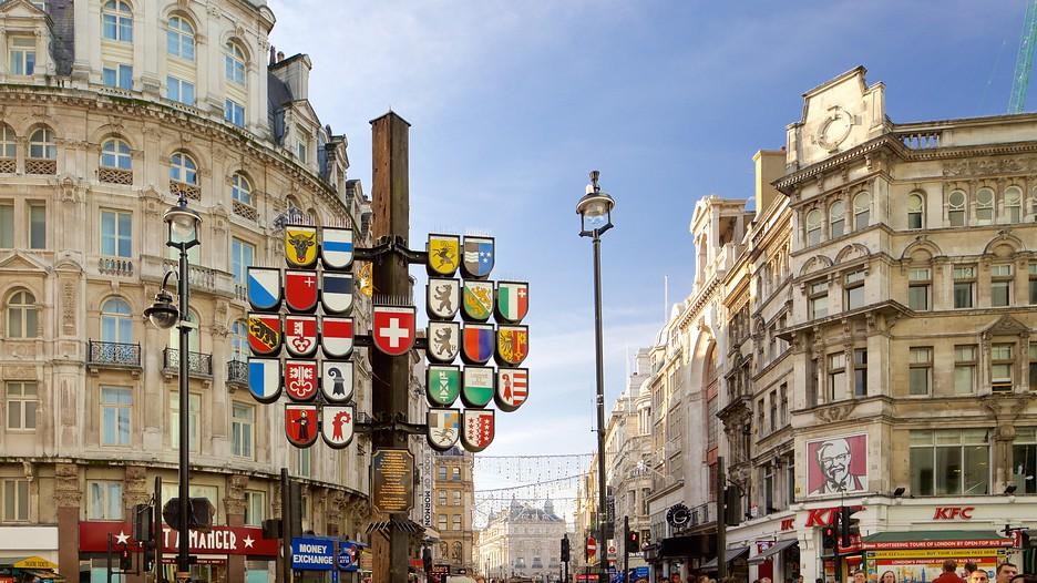 Leicester Square in Lo...