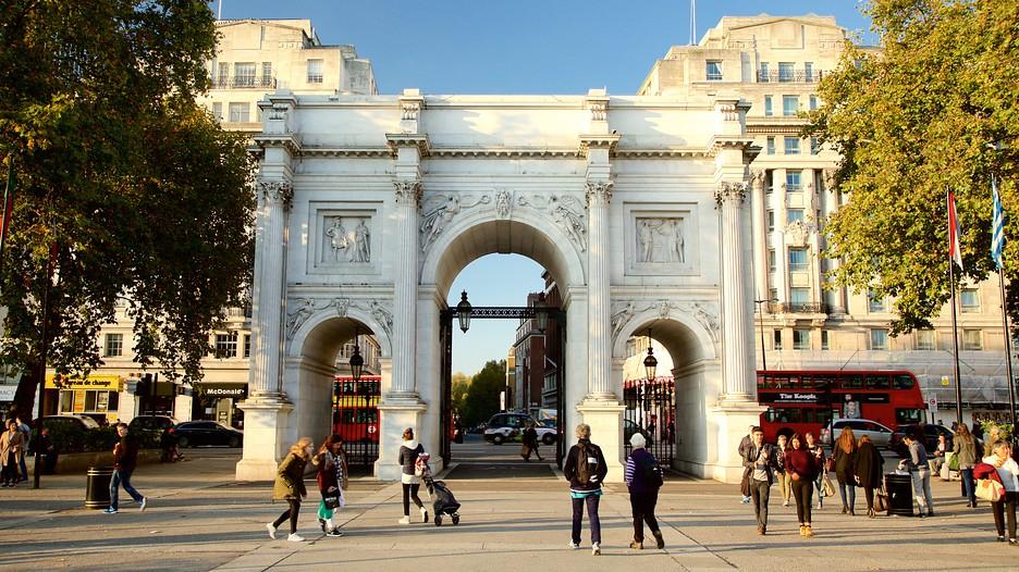 Marble arch punti di interesse a londra con - Londra punti d interesse ...