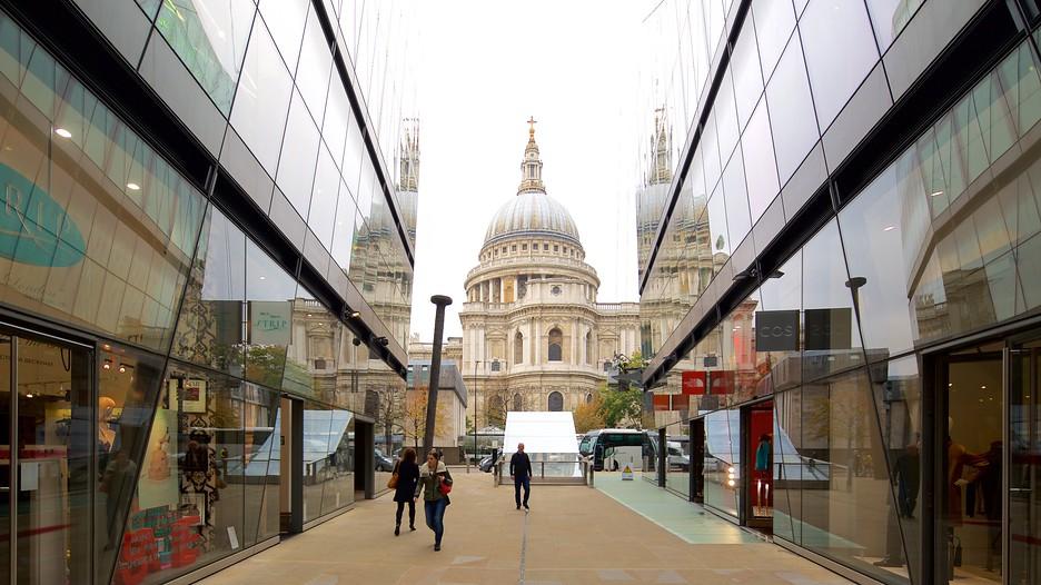 Cattedrale di saint paul punti di interesse a londra con - Londra punti d interesse ...
