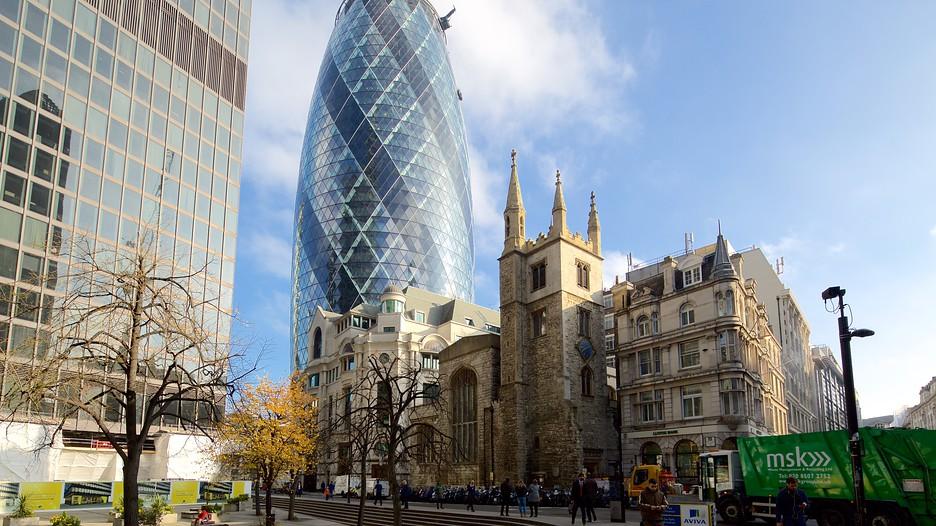 The gherkin punti di interesse a londra con - Londra punti d interesse ...