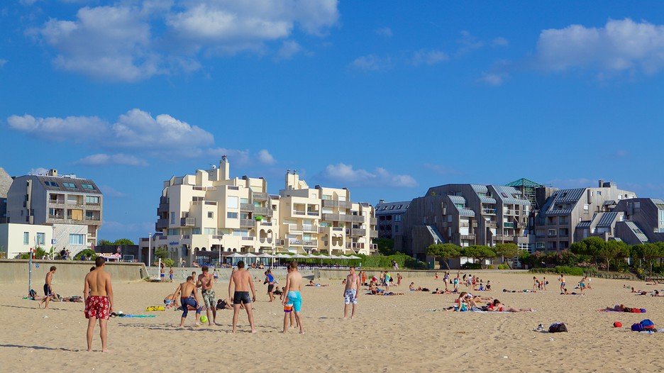 Minimes Beach La Rochelle Tourism Media