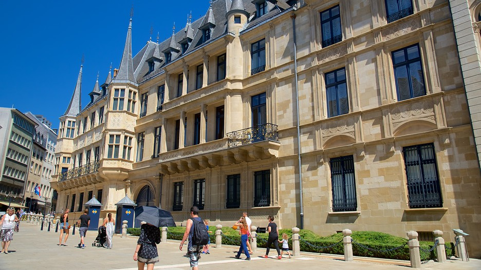Grand Ducal Palace In Luxembourg Expedia