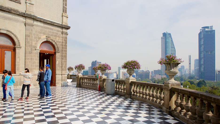 Castillo De Chapultepec In Mexico City,