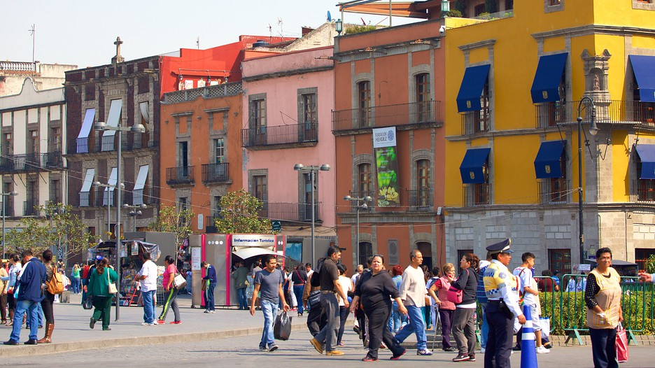 Zocalo In Mexico City,