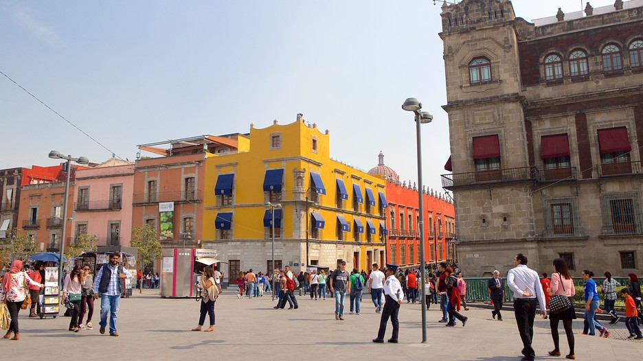 Zocalo in mexico city for Vacation to mexico city