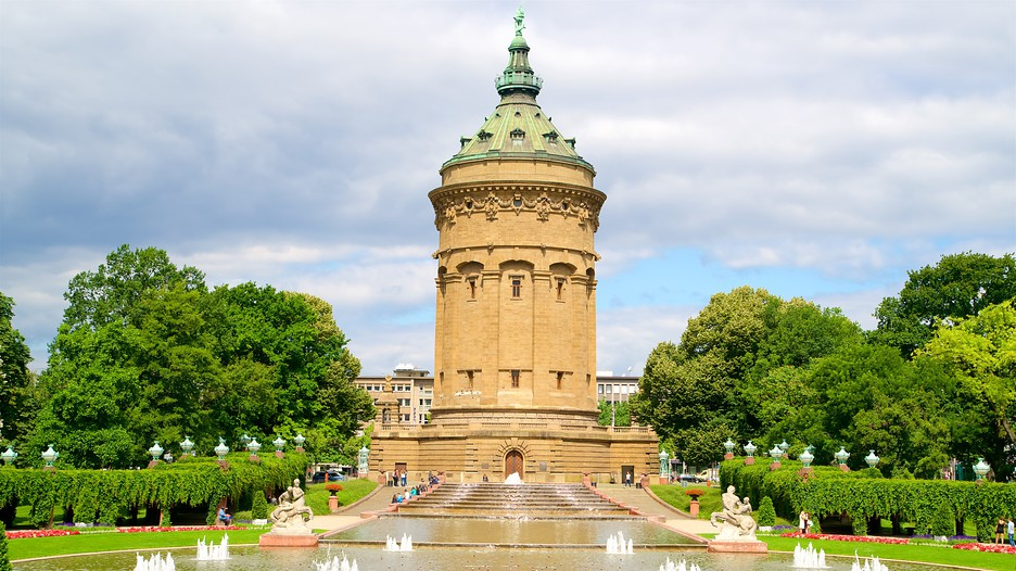 Mannheim water tower mannheim for Hotel youngstar designhotel mannheim