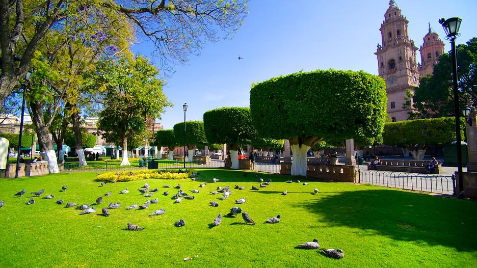 Plaza De Armas In Morelia Michoacan Expedia