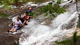 Sliding Rock - Carolina del Norte - Tourism Media