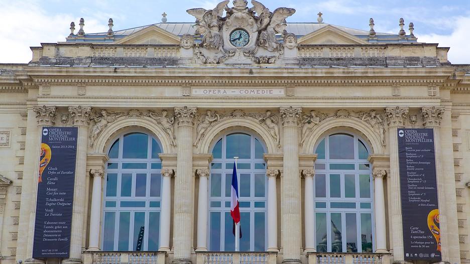 Opera House In Montpellier Occitanie