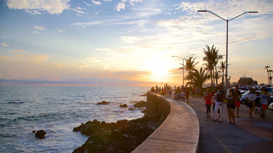 Olas Altas Beach In Mazatlan Sinaloa Expedia