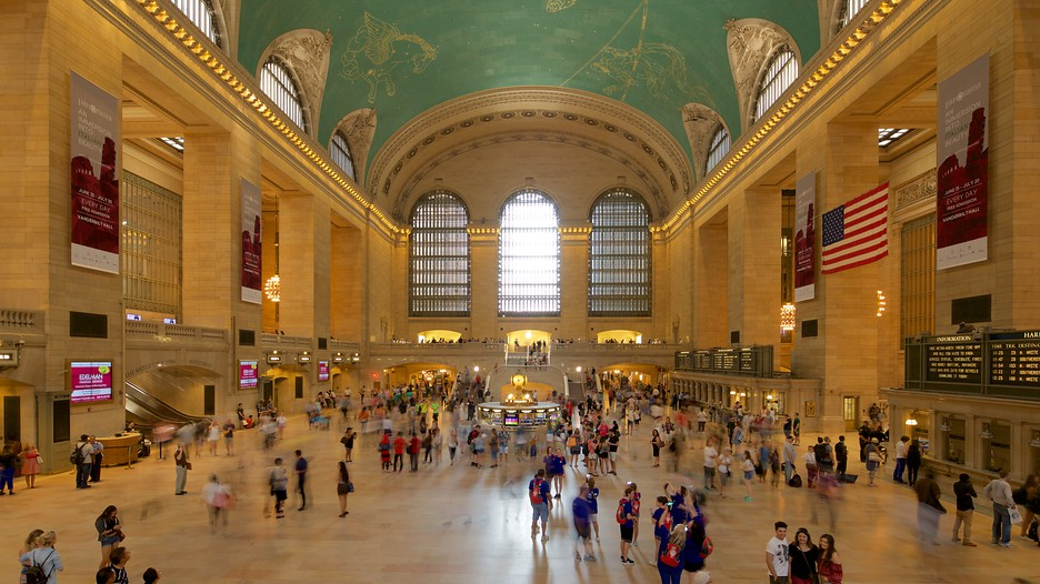 Grand central terminal in new york new york expedia - Grand tableau new york ...
