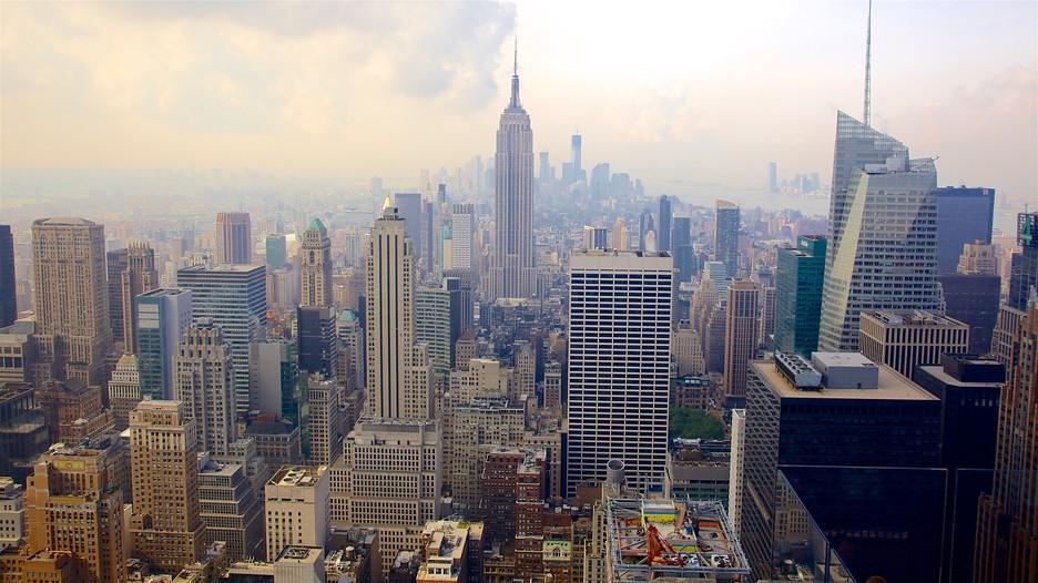 Rockefeller center in new york for Finestra new york