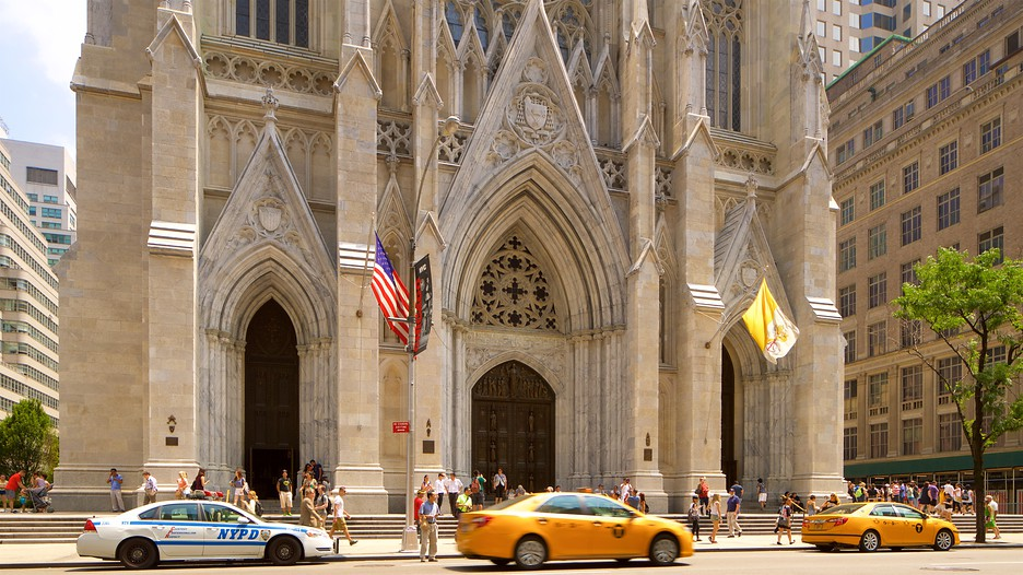 st patricks cathedral new york St patrick's cathedral is an iconic symbol of new yorkbuilt in honor of st patrick, patron saint of ireland, it was established in a neo-gothic style in 1858.