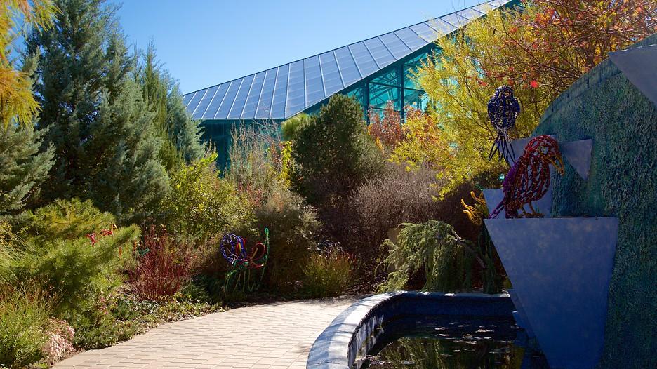 Abq Biopark Botanic Garden In Albuquerque New Mexico