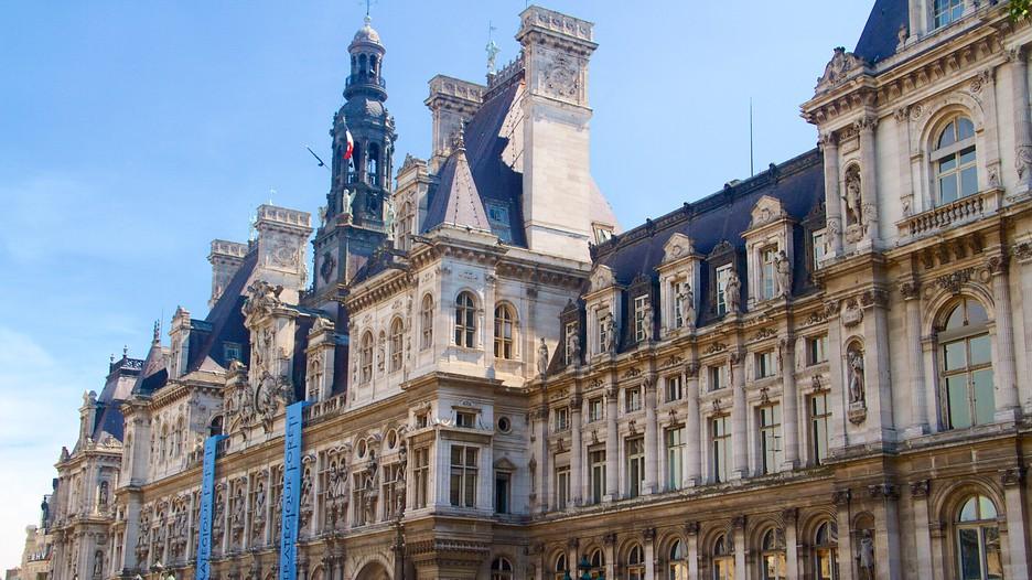 Hotel de ville paris attraction for Hotel de ville