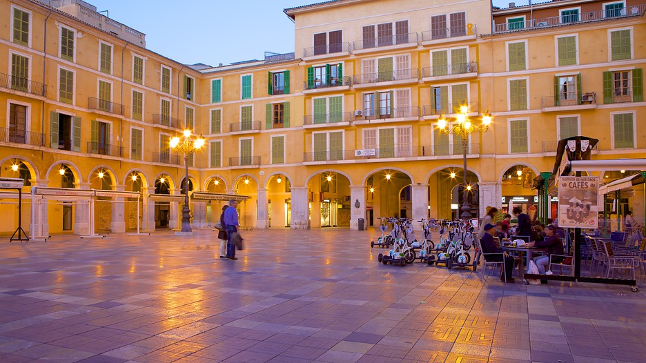 Plaza Mayor de Palma in Palma de Mallorca,  Expedia