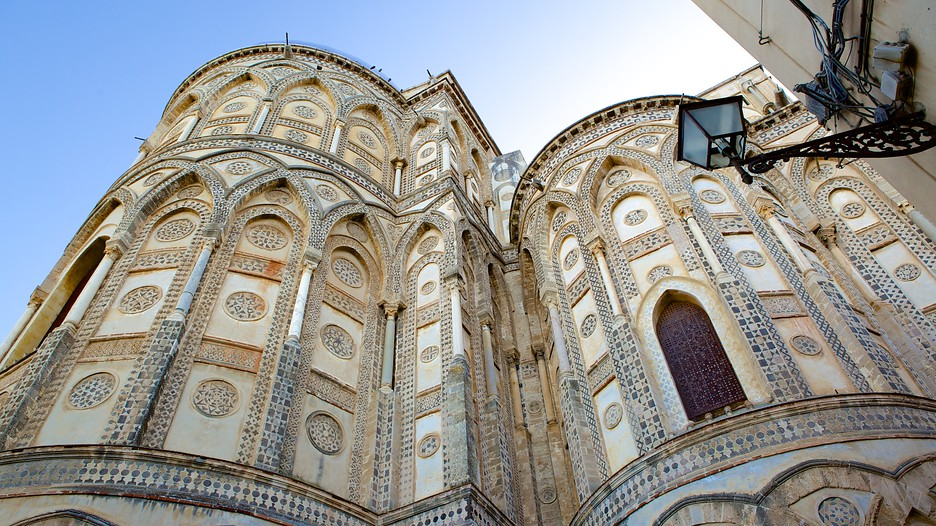 Cathedral Of Monreale In Palermo,