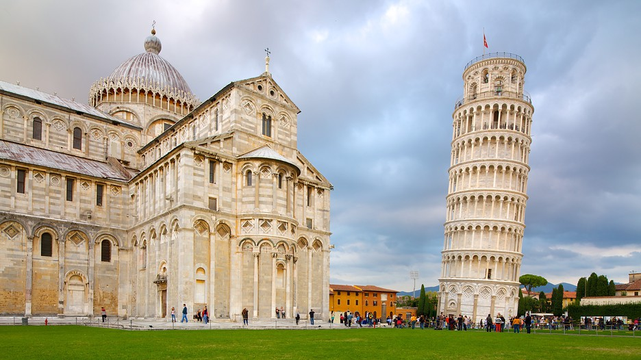 how to make a leaning tower of pisa globe