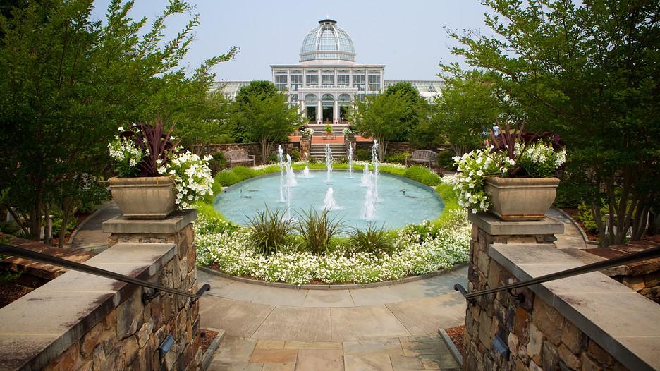 Lewis Ginter Botanical Garden Richmond Virginia Attraction