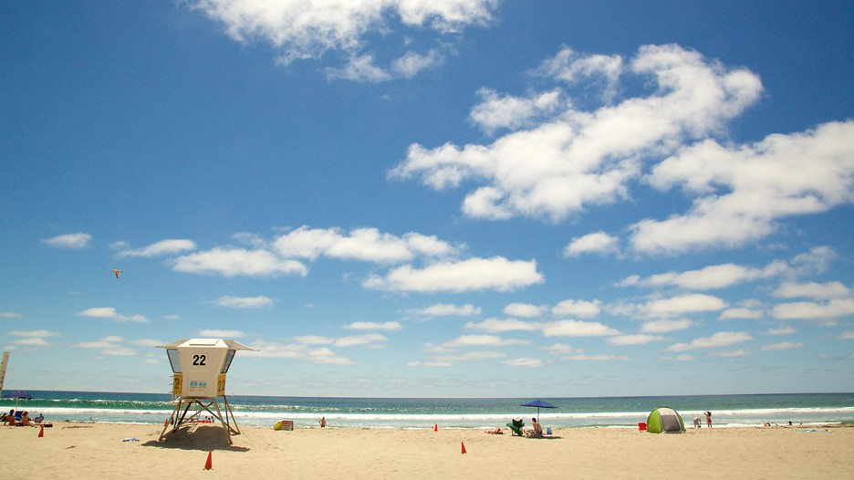Pacific beach park in san diego california expedia for Vacation beaches in california