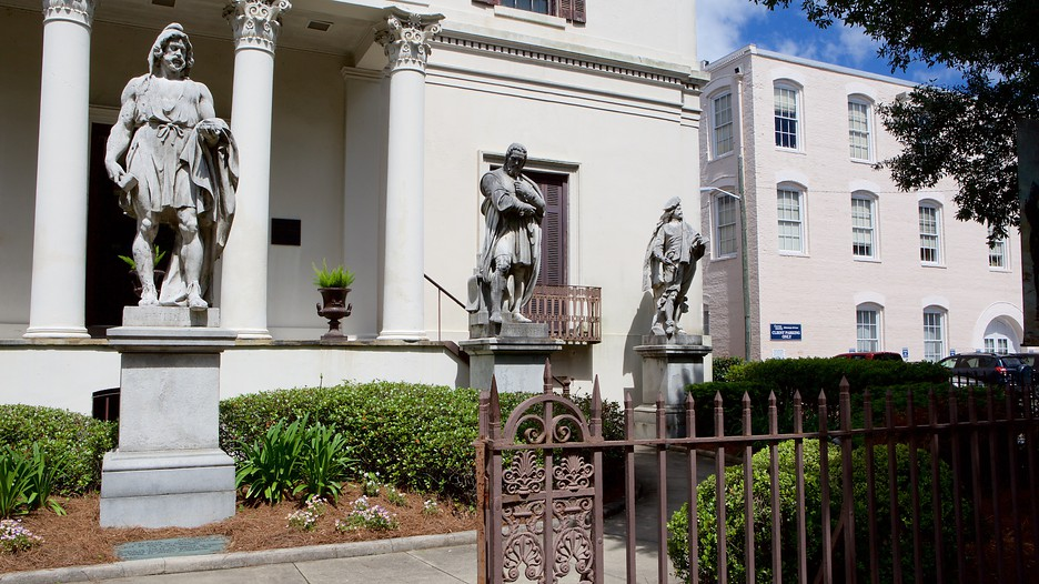 Telfair Square In Savannah Georgia Expedia Ca