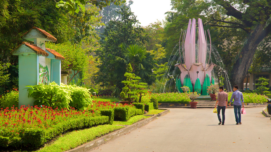 Saigon zoo and botanic garden in ho chi minh city expedia Garden city zoo