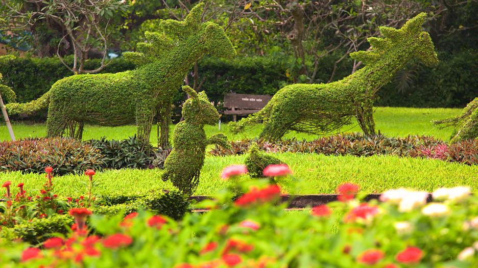Saigon Zoo And Botanic Garden Ho Chi Minh City: garden city zoo