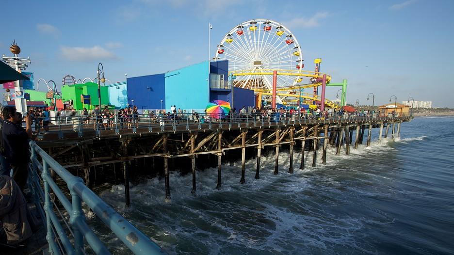 Santa Monica Pier Santa Monica California Attraction Expedia Com Au