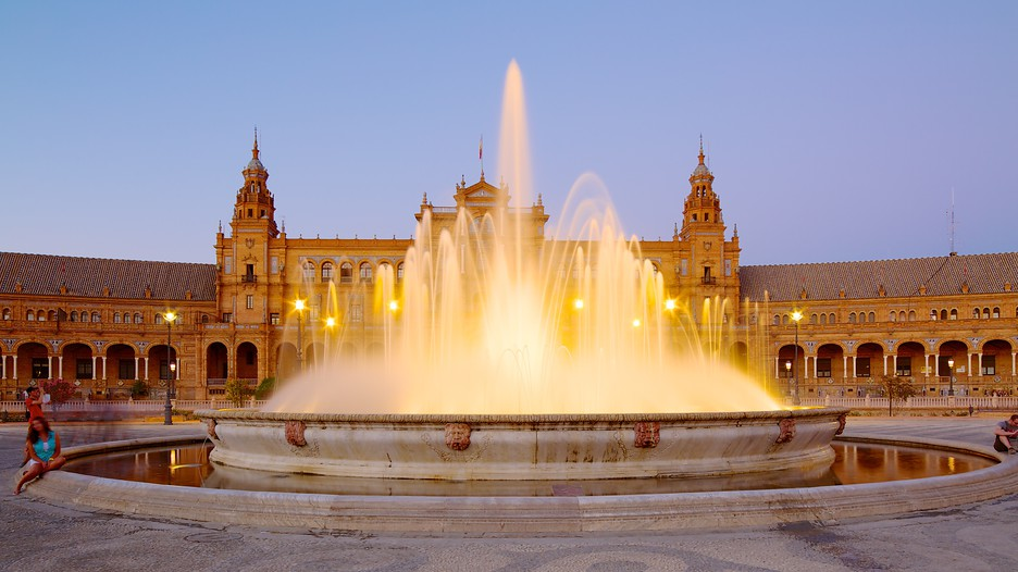 Plaza de Espana in Seville,  Expedia