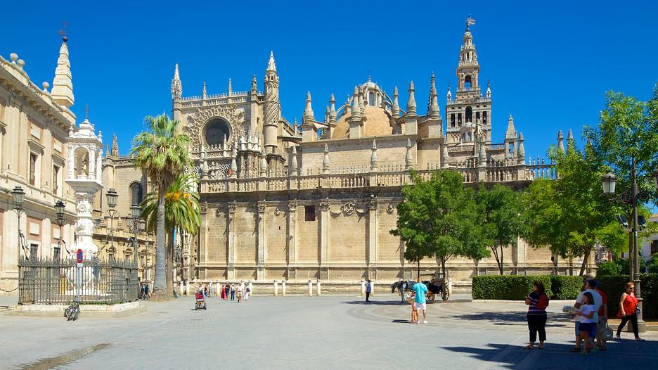 L`ESPAGNE – MOEURS ET PAYSAGES - avec les traditions catholiques de ce pays Seville-Cathedral-Catedral-De-Sevilla-52608