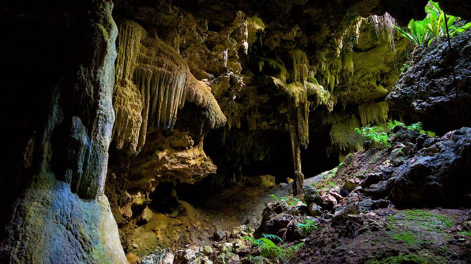 Anatakitaki Cave In Atiu,