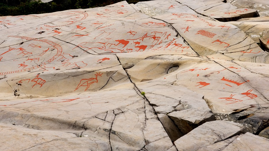 Alta rock carvings in expedia