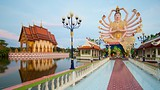 Showing item 37 of 86. Wat Plai Laem - Gulf Islands - Tourism Media