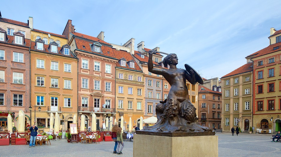 Warsaw Mermaid Statue In Warsaw Expedia Ca