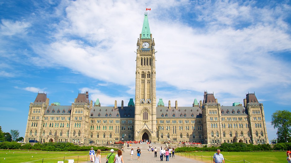 Image result for The Peace Tower, Ottawa, Canada