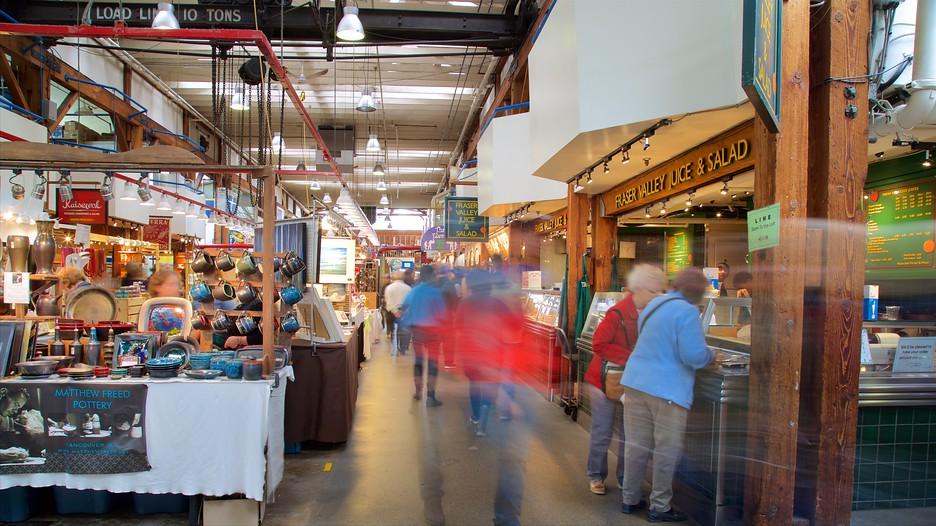 Granville Island Public Market In Vancouver British Columbia Expedia Ca