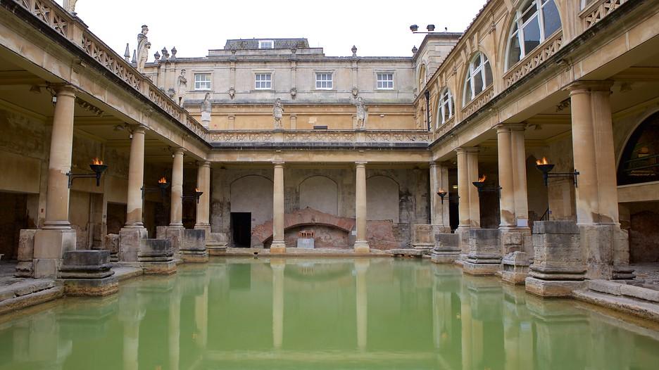 roman baths in bath england expedia. Black Bedroom Furniture Sets. Home Design Ideas