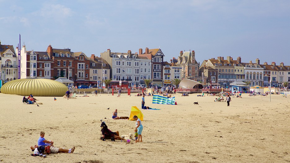 Weymouth Beach In Bournemouth England Expedia Ca