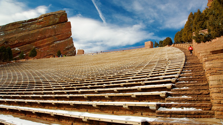 Red Rocks Amphitheater In Morrison Colorado