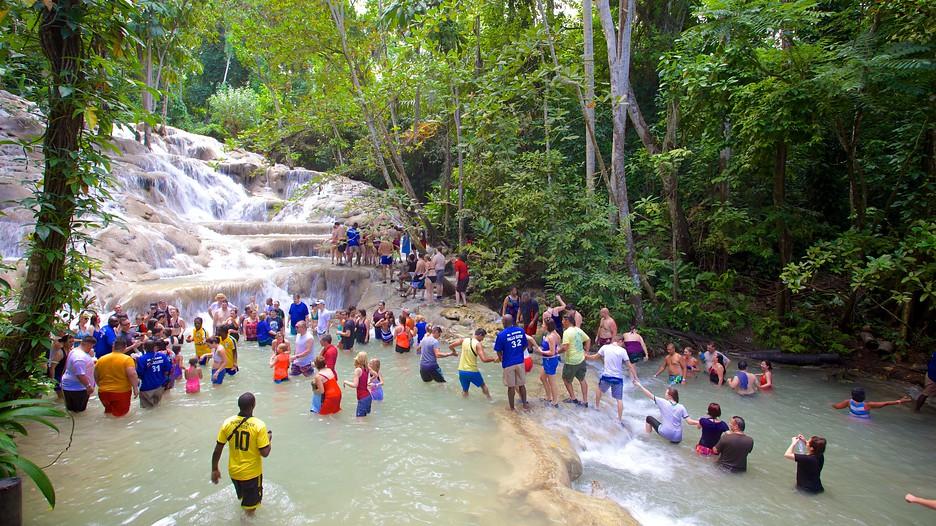 Dunn's River Falls In Montego Bay,