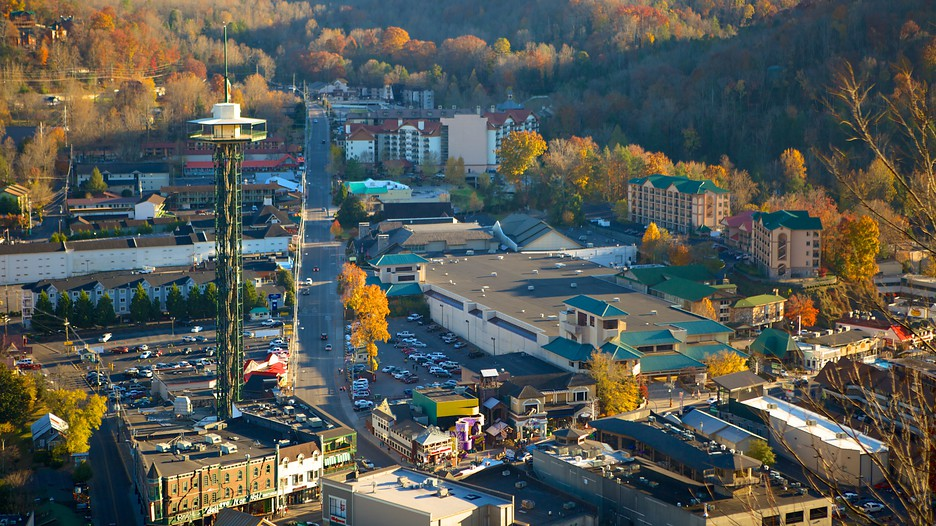 Gatlinburg Space Needle in Gatlinburg Tennessee – Gatlinburg Tourist Map