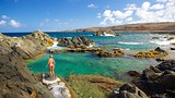 Conchi Natural Pool - Santa Cruz - Tourism Media
