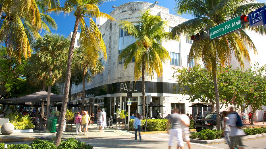 Oct 10,  · Extending from the Atlantic Ocean to the east and Biscayne Bay to the west on Miami Beach, FL, Lincoln Road features various shops, cafés, /5(16K).