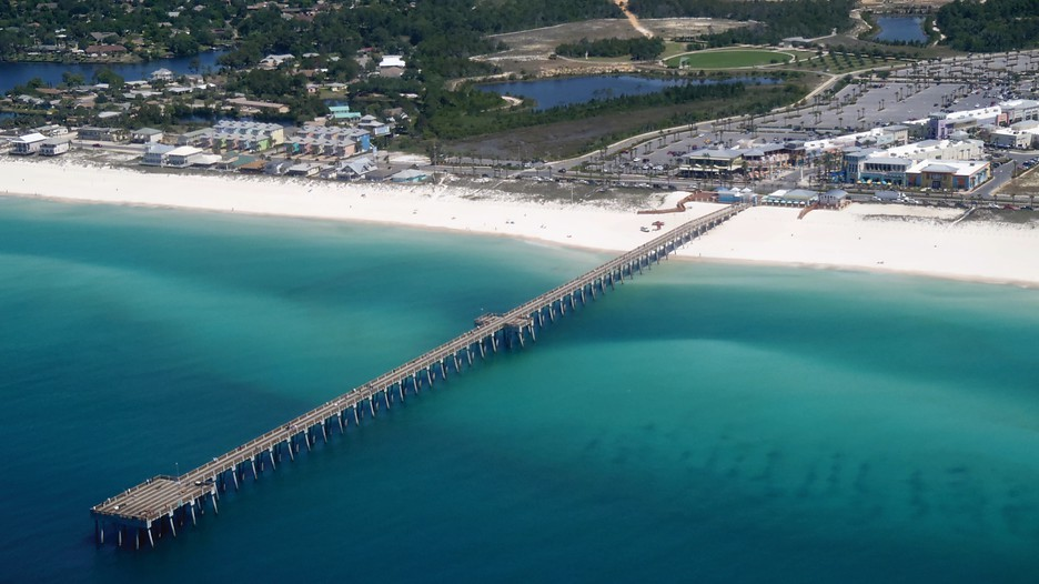 The Grand  Pier Park Panama City Beach Fl