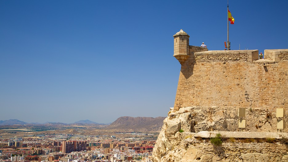Castle of Santa Barbara in Alicante,  Expedia