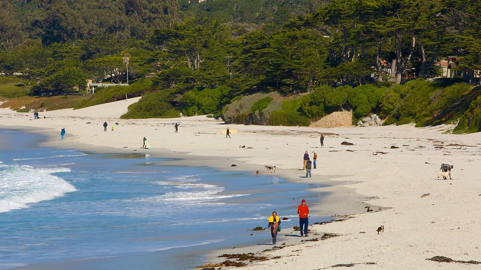 Carmel Beach In Carmel California Expedia Ca