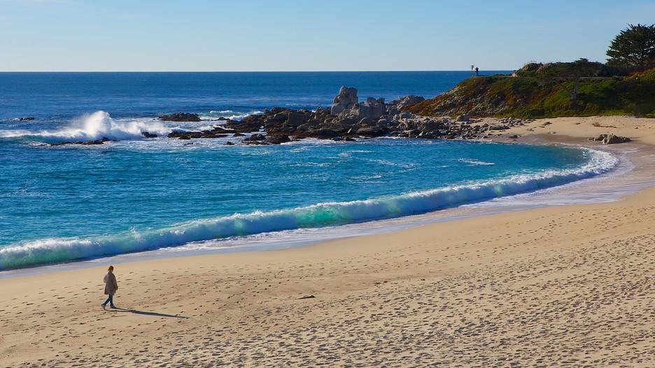 Carmel beach carmel california attraction for Vacation beaches in california